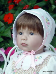 """Lee Middleton Simple Treasures by Reva Schick and Martha Pullen 23"""" Vinyl Doll"""