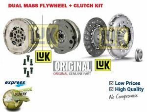 FOR AUDI A4 A5 A6 2.0TDI 177BHP 163 BHP 2011-> DUAL MASS FLYWHEEL + CLUTCH KIT
