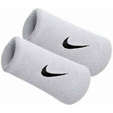 New Nike Adult Unisex  Doublewide Wristbands White/Black  82816