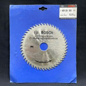 Bosch 170mm x 30mm 50T TCT Circular Saw Blade. Fine Cut in Wood. Made in Germany