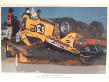 HARDIE FERODO 500 1971, BILL BROWN - GT-HO PHASE 3 FALCON (CRASHED CAR) POSTER