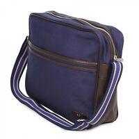 FRED PERRY Classic Canvas shoulder messenger bag Authentic - L5209-494