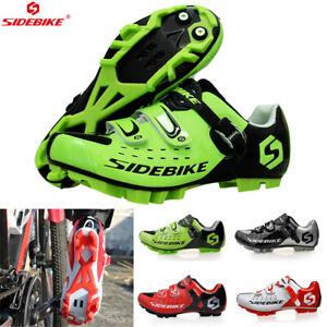 SIDEBIKE Pro Men's MTB Shoes Mountain Bike Cycling Shoes Nylon Sole Lock Shoes