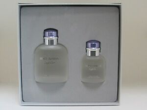 Dolce & Gabbana Light Blue 4.2 oz EDT spray+ 1.3 edt Mens Gift Set NIB