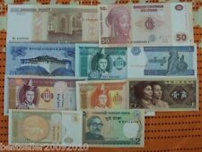 LOT OF 10 DIFFERENT UNC BANK NOTES LIMITED TIME OFFER ONLY # M10