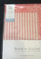 Anne De Solene Paxton Coral King Pillow Sham #0312 Cotton 2 Avbl