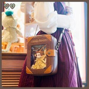 Storybook Book Transparent Messenger Bags Alice Doll Lolita Itabag Storage Box