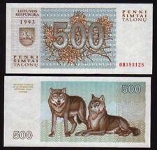 Lithuania 500 Talonu 1993 UNC P46