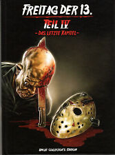 Friday 13th Part 4  , 2 Discs , 100% uncut , Mediabook , Freitag der 13. Teil 4