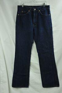 VTG Levis 517 Orange Tab Denim Blue Jeans 33 x 36 Made USA Boot Cut