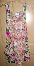 H&M Garden Collection Dress Floral Babydoll sz 4