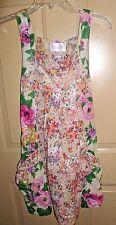 H&M Garden Collection Dress Floral Babydoll sz 4