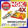 KIT 4 CANDELE NGK SPARK PLUG CR9EK SUZUKI GSF 600 YBanditWVA8 600 2000