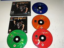 Wing Commander 1V The Price Of Freedom PS1 Game