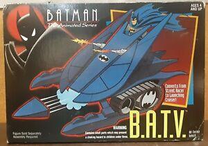 Vintage 1993 Kenner Batman Animated Series BATV All Terrain Vehicle with Box