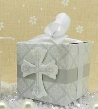 20x BABY SHOWER CHRISTENING WEDDING FAVOUR BONBONNIERE BOXES + RIBBONS