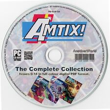 AMTIX! Magazine Collection on Disk ALL ISSUES Amstrad CPC464/664/6128 Games/Apps