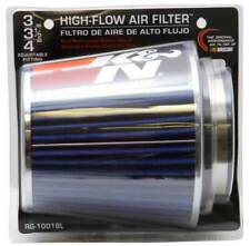 """K&N 3"""" to 4"""" Round Tapered Universal Air Intake Cone Filter Chrome Car/SUV/Truck"""