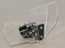 Adjustable Clip On Windshield Spoiler for Kawasaki Ninja 500R 650 R ZX10R ZX11