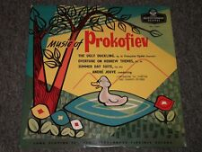 Music of Prokofiev~The Ugly Duckling~Overture On Hebrew Themes~DTL 93084~IMPORT