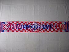 d1 sciarpa CROAZIA football federation association calcio scarf schal croatia