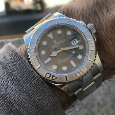 Rolex Yachtmaster 116622 Rhodium Dial , Box and Papers Random Serial