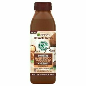 Garnier Ultimate Blends Smoothing Hair Food Coconut Shampoo for Curly Hair 350ml