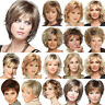 Womens Short Curly Wavy Wigs Blonde Pixie Hair Synthetic Cosplay Full Head Wig