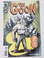 THE GOON 25¢ EDITION (2005) DARK HORSE COMICS AUTOGRAPHED by ERIC POWELL w COA!