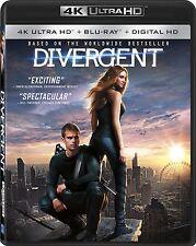 DIVERGENT  (4K ULTRA HD) - Blu Ray -  Region free
