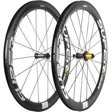 SUPERTEAM U Shape 25mm Width 50mm Clincher Carbon Racing Road Wheels Ceramic Hub