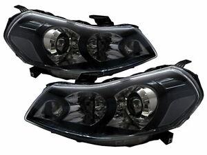 SX4 MK1 2007-2013 4D/5D Projector Headlight Black US V2 for SUZUKI LHD
