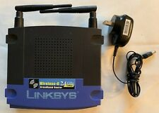 Linksys WRT54G Wireless G Router with DD-WRT Security VPN Firmware No Box