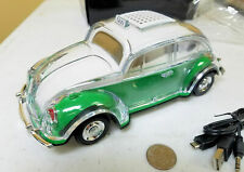 VW Beetle Bug Bluetooth Speaker GREEN color FREE US SHIPPING