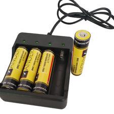 Neu Unterstützung 1/2/3/4 x 18650 Lithium -Ionen Akkus Batterien Ladegerät