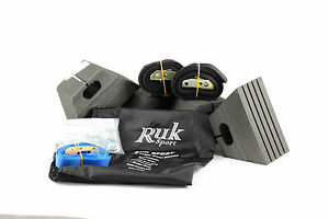 Ruk Sport canoe Foam Roof Rack Blocks system
