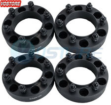 (4) 1.5'' 6 Lug Hubcentric Black Wheel Spacers Adapters 6x5.5 for Toyota Tacoma