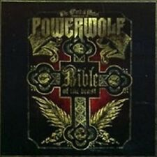 "POWERWOLF ""BIBLE OF THE BEAST"" CD 12 TRACKS NEW+"
