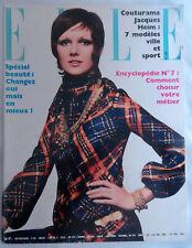 French 1/1969 Helmut Newton Claude Lelouch Sophia Loren Jacques Heim Chalandon