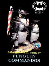 Full part Batman Rocket Penguin Commandos Set 1/6 Figure Vinyl Model Kit