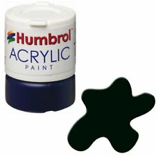 Humbrol Acrylic, Black Green