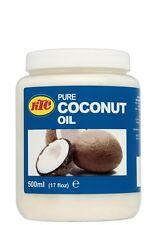 KTC 100% Pure Coconut Oil Hair & Skin Moisturiser, Oil Pulling, Cooking- 500ml