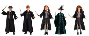 HARRY POTTER CHAMBER OF SECRETS DOLL - MALFOR RON PROFESSOR MCGONAGLL QUIDDITCH