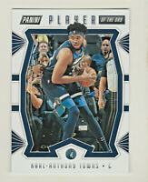 2019-20 Panini PLAYER OF THE DAY #20 KARL-ANTHONY TOWNS Minnesota Timberwolves