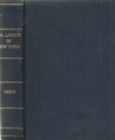 PROCEEDINGS OF THE GRAND LODGE OF NEW YORK 1950 MASONIC MASONRY