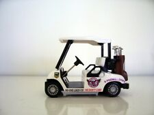 DIECAST GOLF CART BUGGY- Sea Eagles - Clubs,Driver,Iron,Putter,Bag, Ball,Trolley