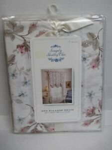 Rachel Ashwell Simply Shabby Chic DOLCE White Pink Floral Balloon Shade