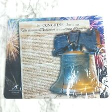 Patriotic Mousepad Liberty Bell Declaration Independence American Christmas Gift