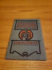 Fairbanks Vertical Gasoline Engines Catalog Original