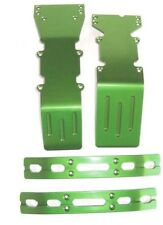 T-Maxx and E-Maxx Olive Green Anodized Skid Plate and Bumper